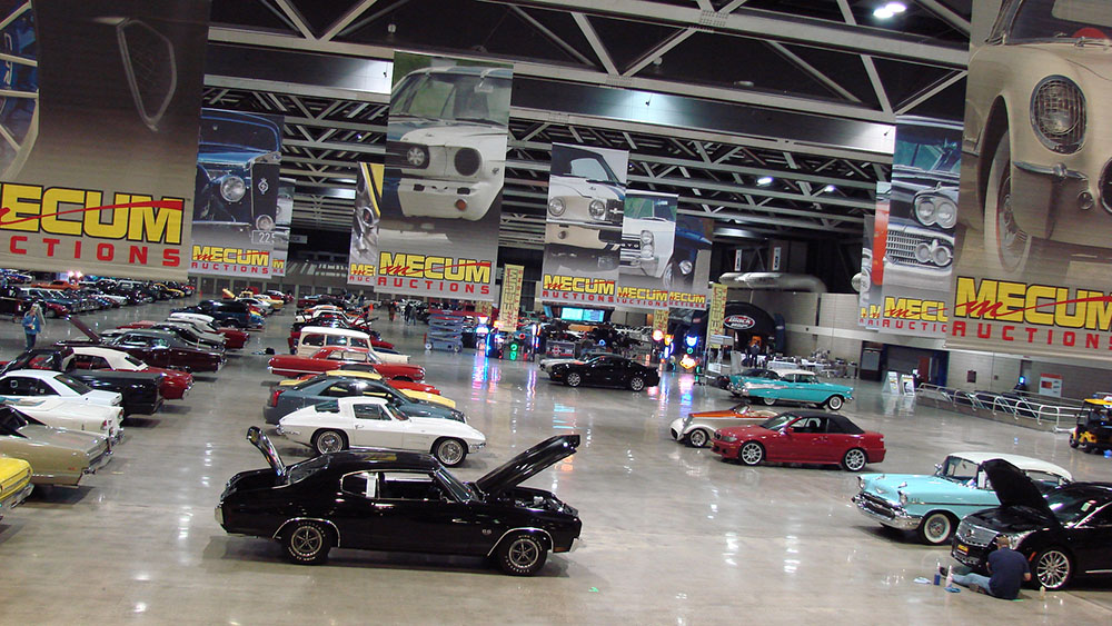 Mecum Auctions Car Auction
